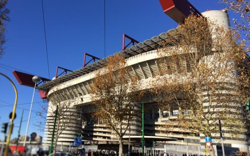 イタリアサッカーの聖地、ミラノの「サン・シーロスタジアム」に行ってきました! | イタリア観光ガイド
