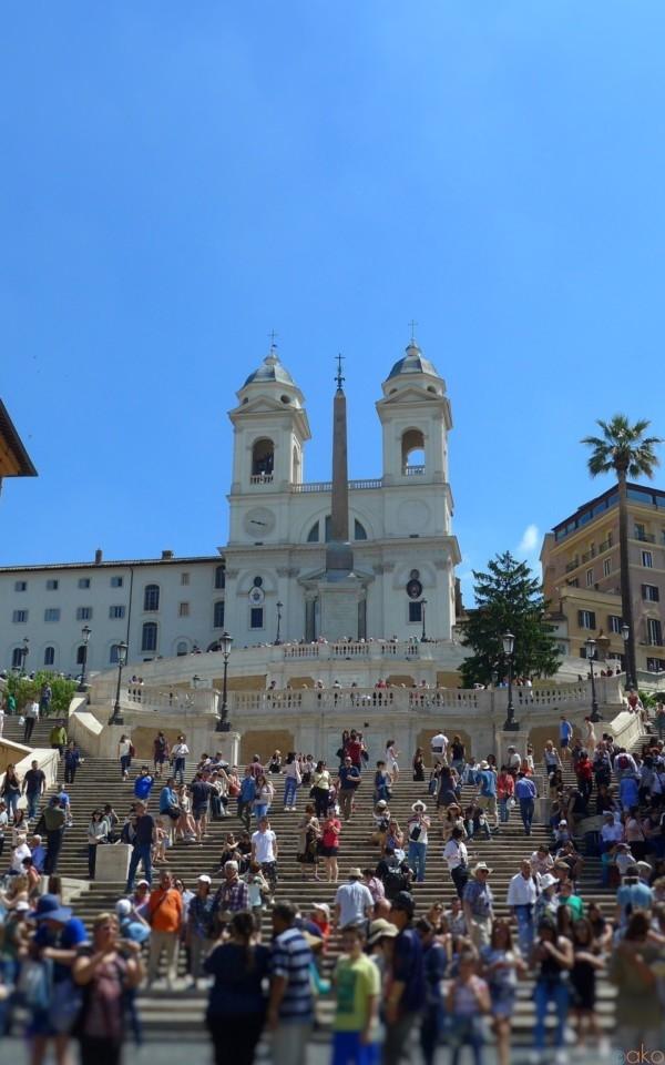 「ローマの休日」の聖地、憧れのイタリア・ローマ スペイン広場 | イタリア観光ガイド