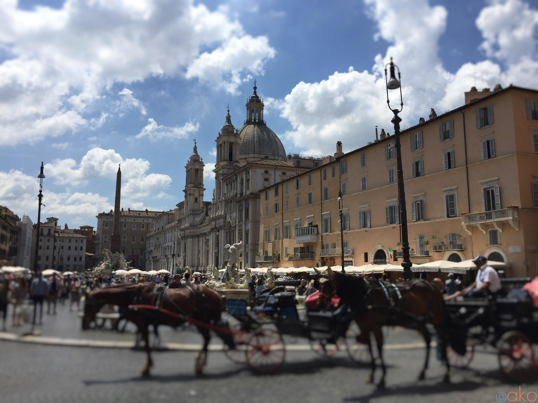 ローマ「ナヴォーナ広場」ってどんなトコ!?徹底解説 | イタリア観光ガイド
