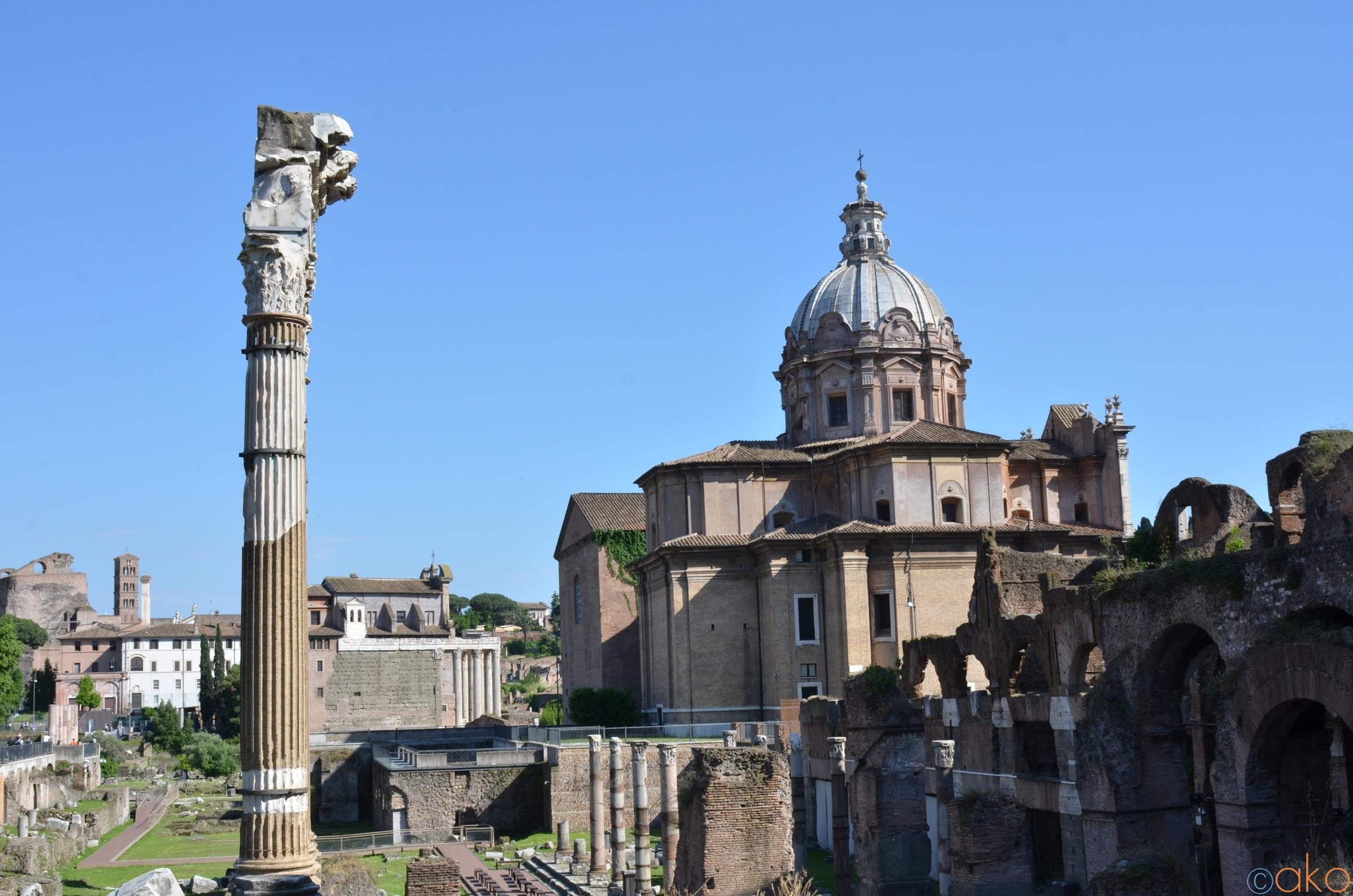 これだけは絶対!ローマ「フォロ・ロマーノ」必見ポイント5選   トラベルダイアリー