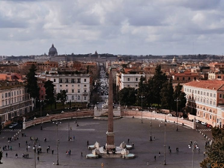 ローマの玄関口「ポポロ広場」へ、ご案内します♪ | イタリア観光ガイド