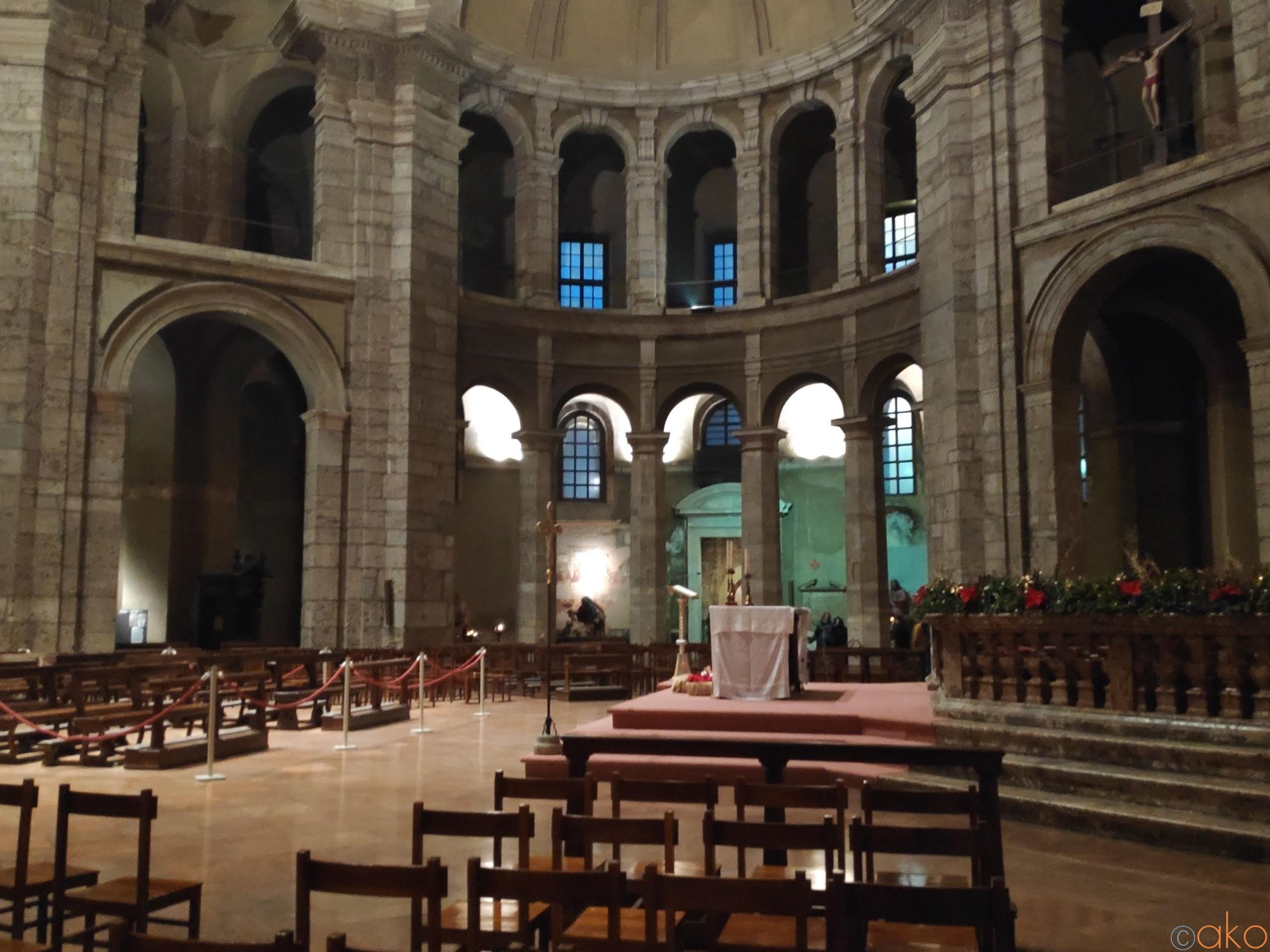 凛とした美しさ、ミラノの「サン・ロレンツォ大聖堂」の魅力。 | イタリア観光ガイド