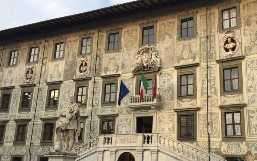 ピサの中にあるエレガンス、カロヴァーナ宮が見逃せない!| イタリア観光ガイド