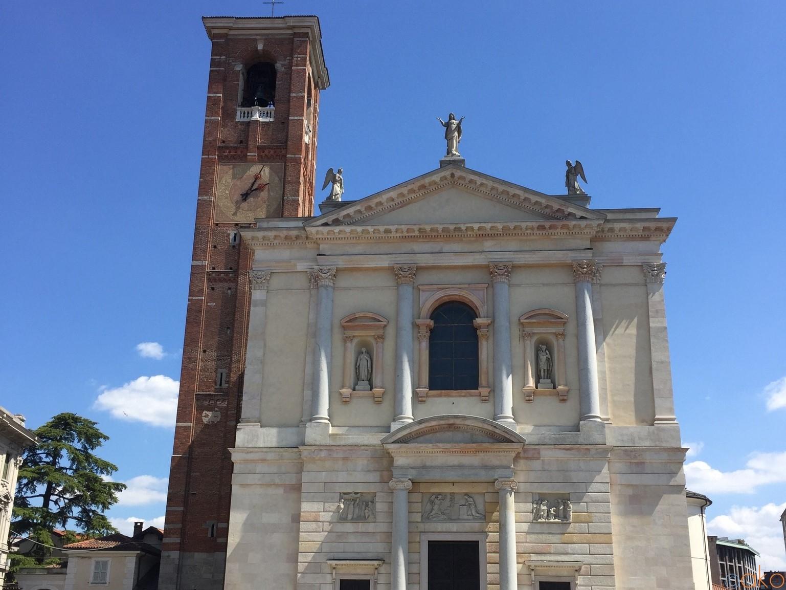 ミラノ近郊ガッララーテ、サンタ・マリア・アッスンタ聖堂探訪★  イタリア観光ガイド