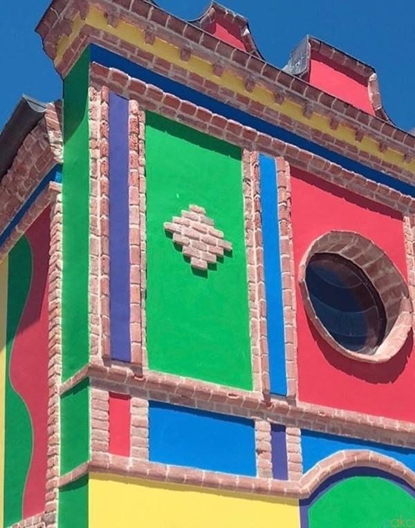 カラフルたまらん!ピエモンテ州、ラ・モッラの「ブルナーテ礼拝堂」| イタリア観光ガイド