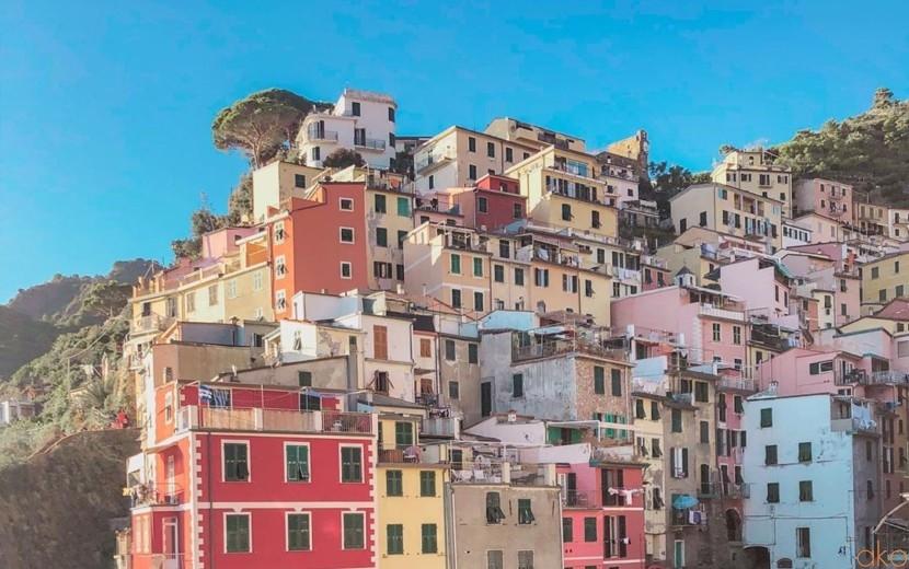 チンクエテッレの玄関!リオ・マッジョーレ村をご案内します♪| イタリア観光ガイド