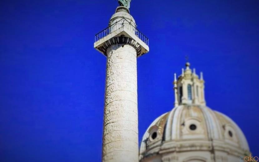 ブームはここから始まった!ローマ、トラヤヌスの記念柱| イタリア観光ガイド