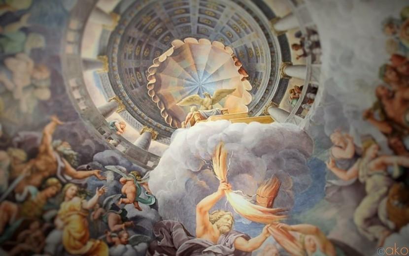 北イタリア マントヴァ、テ離宮で絵画の渦に溺れたい!|イタリア観光ガイド