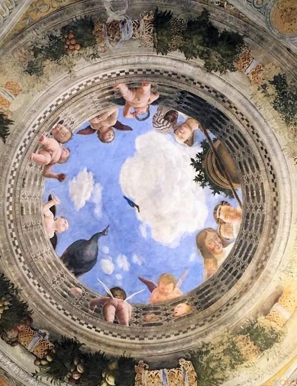 華やかな世界観は、新婚旅行にもおすすめ!マントヴァ、結婚の間|イタリア観光ガイド