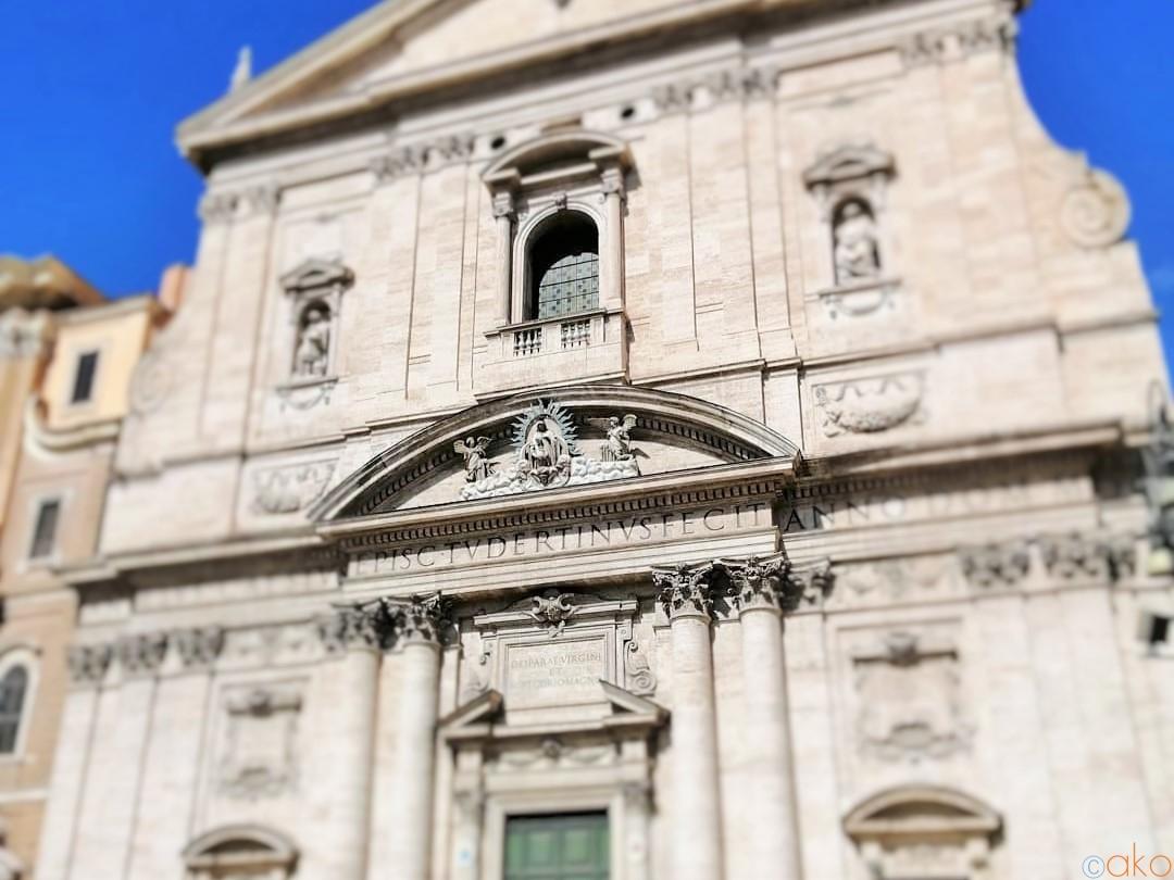 ローマで新しい教会といえば、いつだってココ!ヌォーヴァ教会| トラベルダイアリー