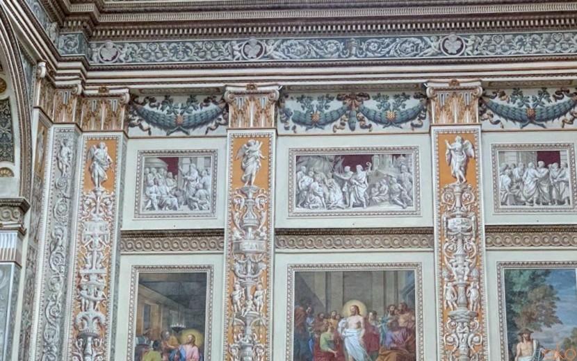 絵画の渦に巻き込まれたい!マントヴァ、サンタンドレア聖堂|イタリア観光ガイド