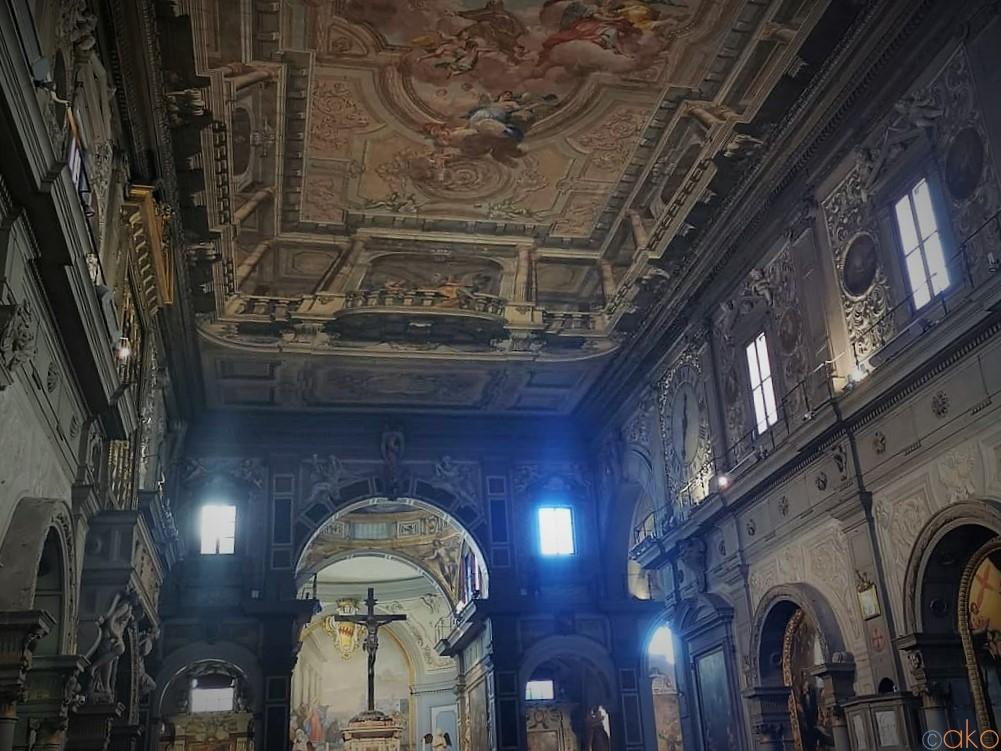 行かなきゃ絶対もったいない!フィレンツェ、オンニサンティ教会 イタリア観光ガイド