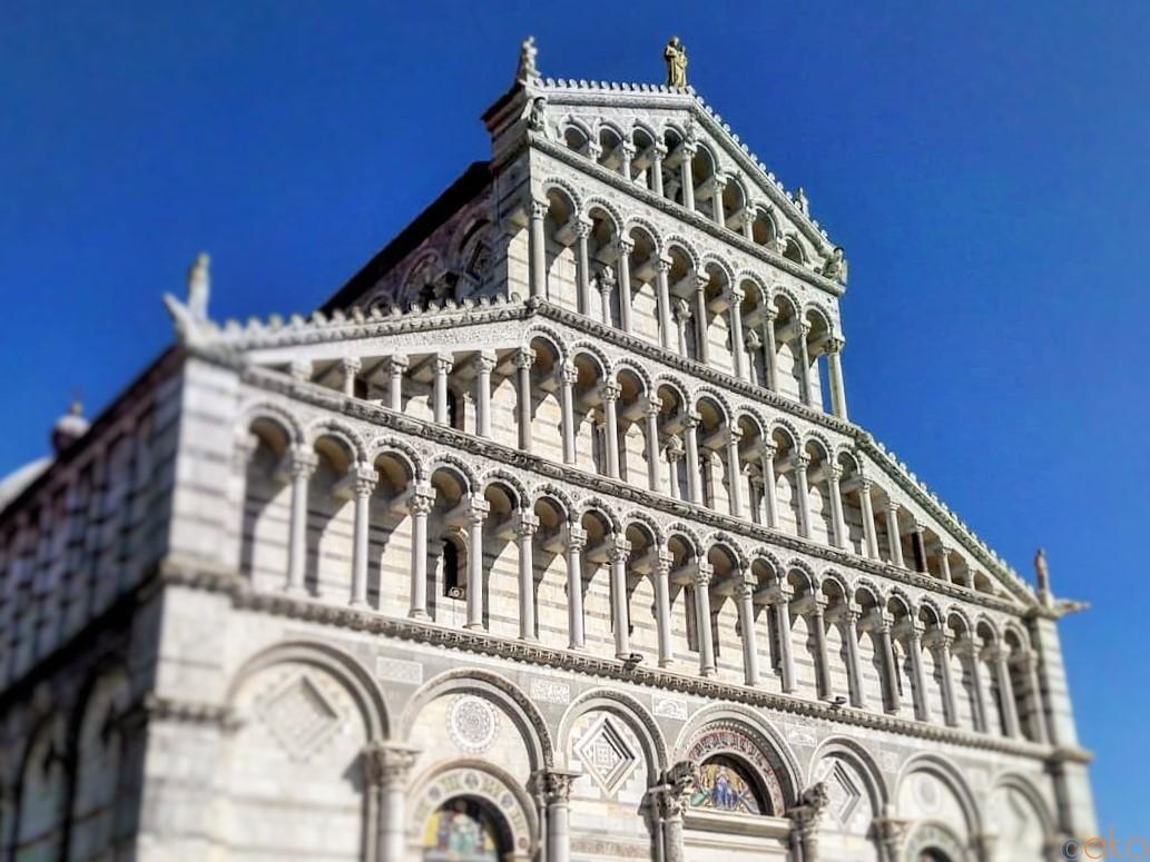 「ピサの斜塔」は脇役!?真のヒロイン、ピサ大聖堂 イタリア観光ガイド