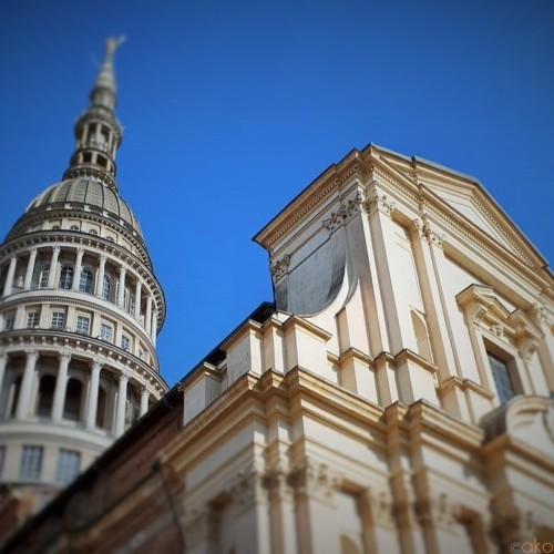 ずっと見ていたいクーポラ。ノヴァーラ、サン・ガウデンツィオ聖堂|イタリア観光ガイド