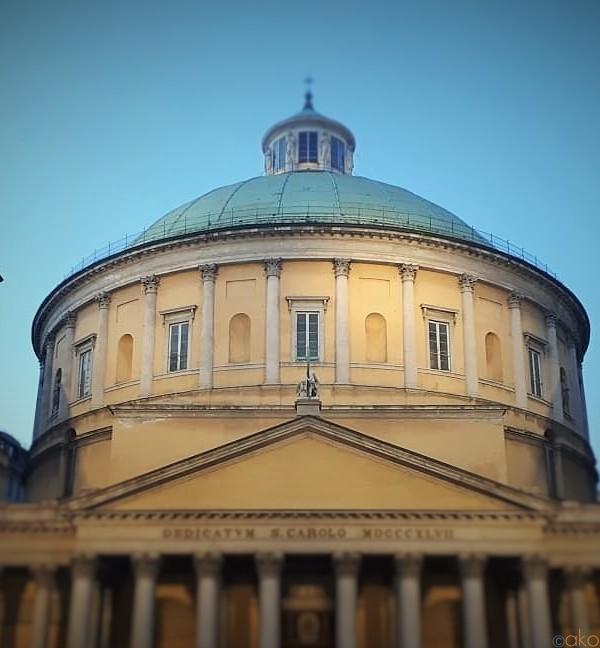 ミラノいちのクーポラに会いたい!サン・カルロ・アル・コルソ教会|イタリア観光ガイド
