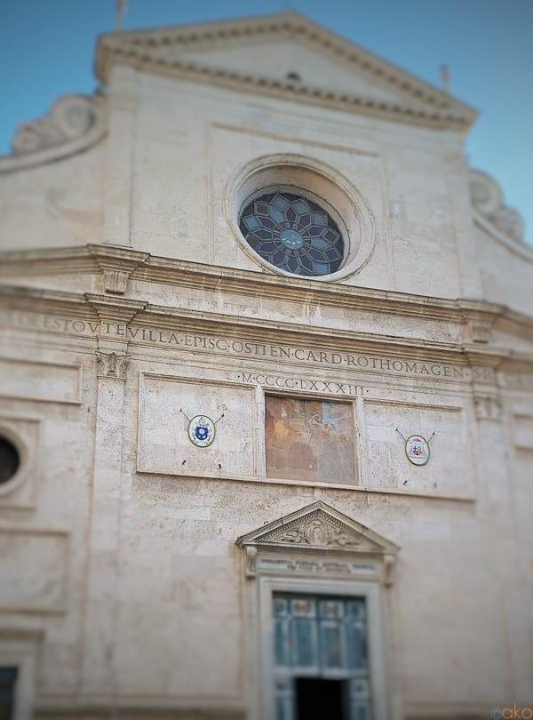 イタリアきっての名画に浸る幸せ。ローマ、サンタゴスティーノ教会|イタリア観光ガイド
