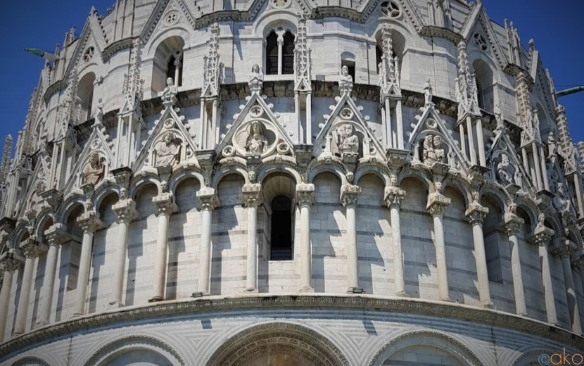 実はイタリアいち大きい!ピサのサン・ジョヴァンニ洗礼堂|イタリア観光ガイド