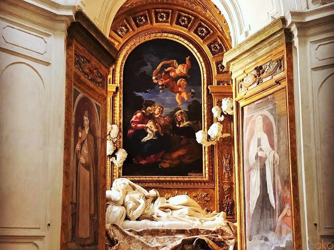 ローマ、サン・フランチェスコ・ア・リーパ教会で傑作に出会う。|イタリア観光ガイド
