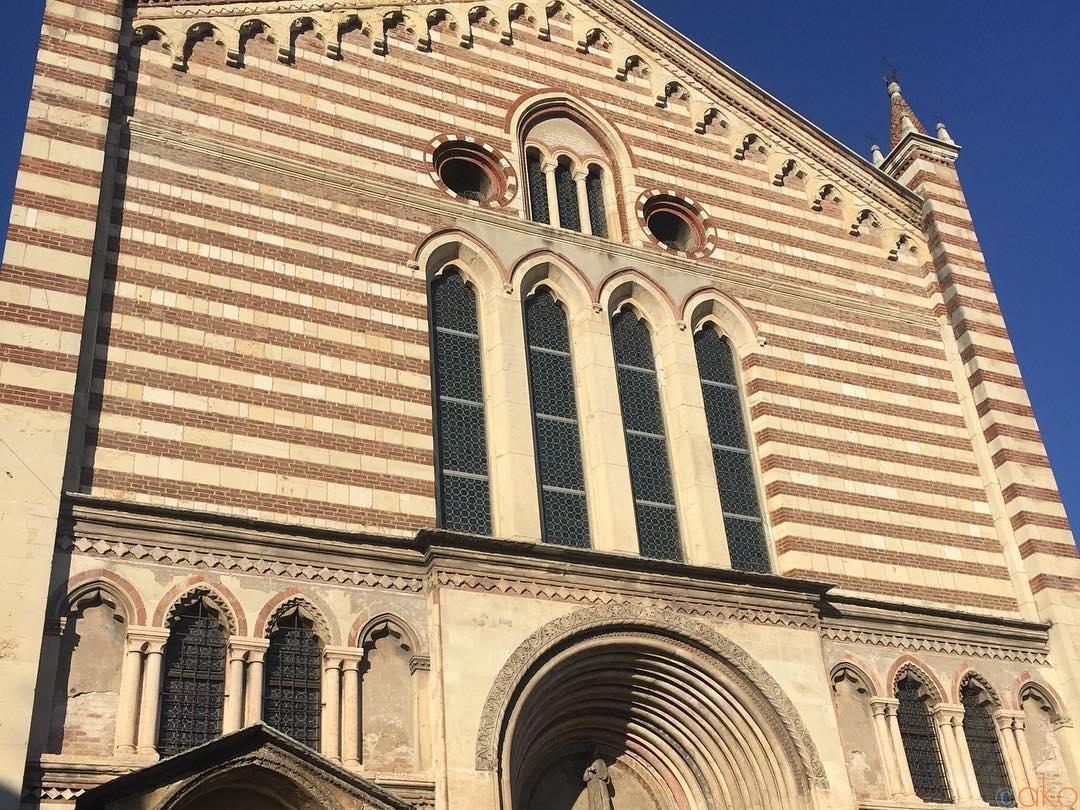 1か所で2度感動。ヴェローナ、サン・フェルモ・マッジョーレ教会 イタリア観光ガイド