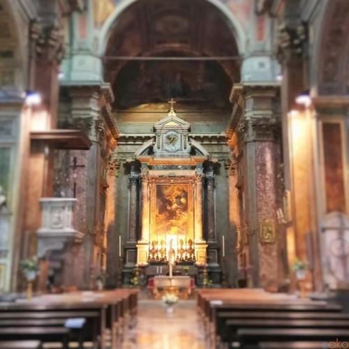 パンデミックの終息を祈って…ローマ、サン・ロッコ教会|イタリア観光ガイド