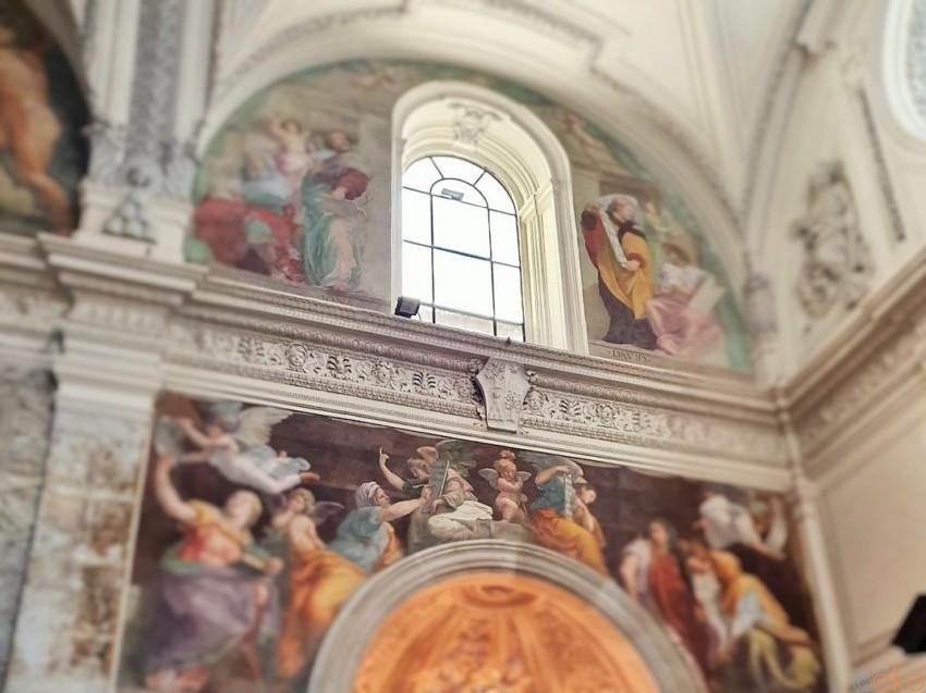 女子力アップ!?ローマ、サンタ・マリア・デッラ・パーチェ教会 イタリア観光ガイド