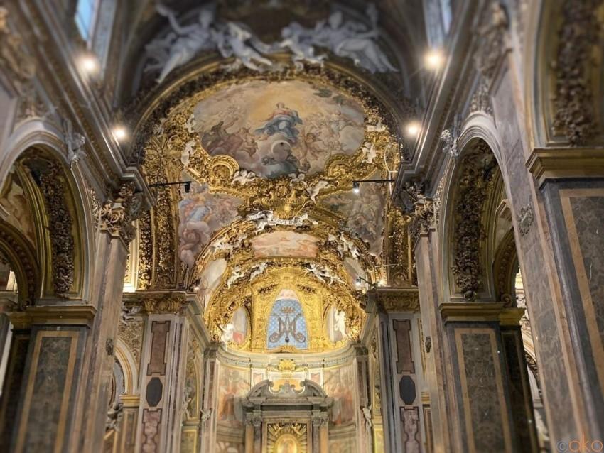 日本人にも縁のある場所。ローマ、サンタ・マリア・デル・オルト教会 イタリア観光ガイド