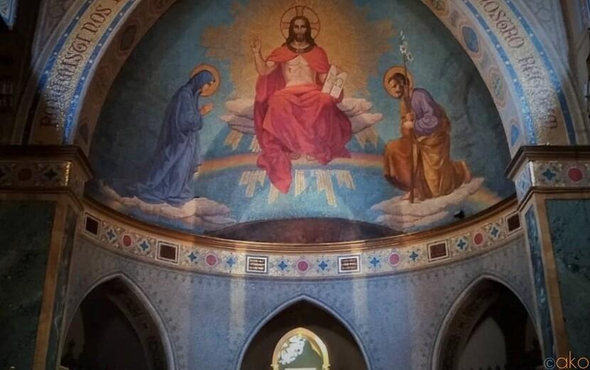 ローマで青色の世界に浸りたい!聖アルフォンソ・デ・リゴリ教会|イタリア観光ガイド