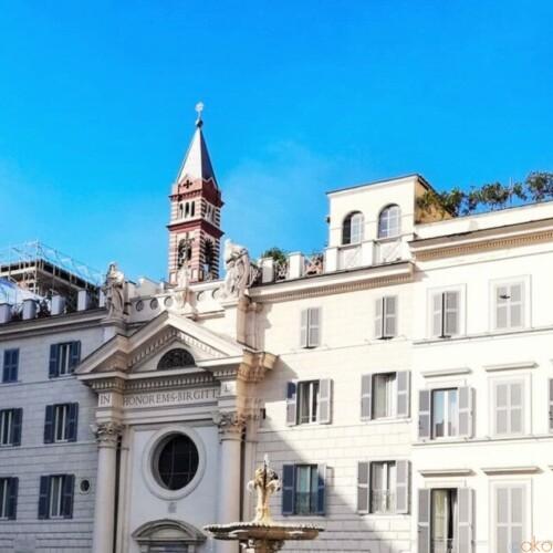 フランスやスウェーデンを感じる。ローマ、サンタ・ブリジダ教会|イタリア観光ガイド