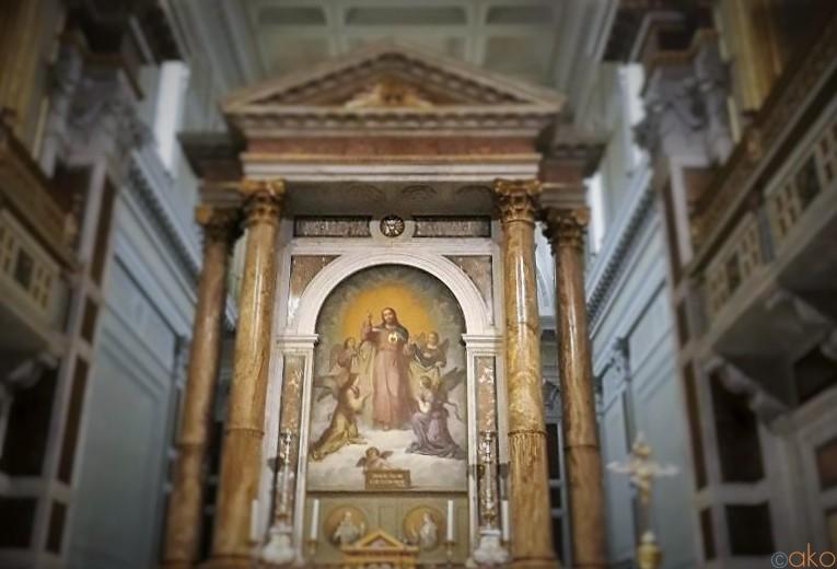 駅からスグ!の神聖な場所。ローマ、イエス聖心大聖堂|イタリア観光ガイド