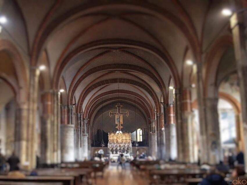 ミラノ、サンテウストルジョ教会を徹底解剖~教会編~|イタリア観光ガイド