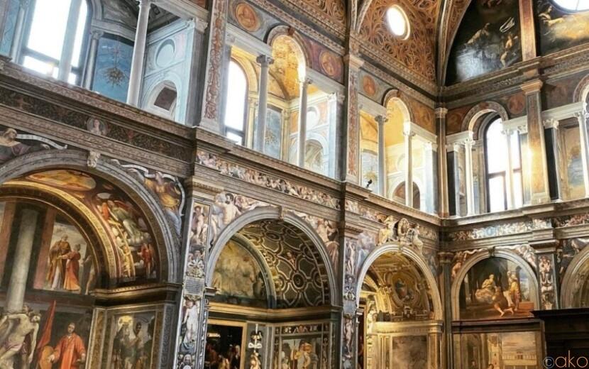ミラノでヴァチカン気分!?サン・マウリツィオ教会に行ってみて!|イタリア観光ガイド