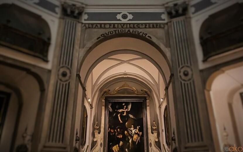 名画がひそむ。ナポリ、ピオ・モンテ・デッラ・ミゼリコルディア教会|イタリア観光ガイド