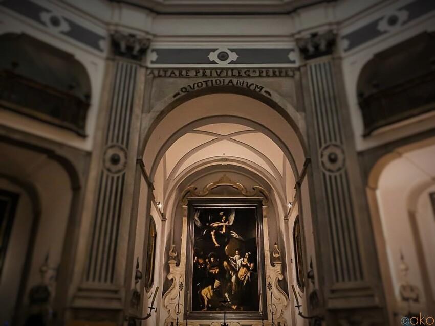 名画がひそむ。ナポリ、ピオ・モンテ・デッラ・ミゼリコルディア教会 イタリア観光ガイド