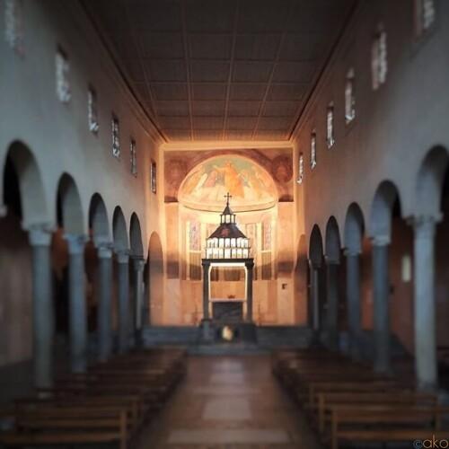 真実の口からスグ!ローマ、サン・ジョルジョ・イン・ヴェラブロ教会|イタリア観光ガイド