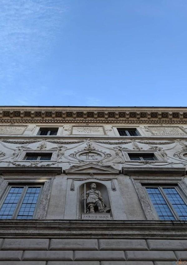 現、ローマの行政機関の穴場スポットに潜入。スパーダ宮|イタリア観光ガイド