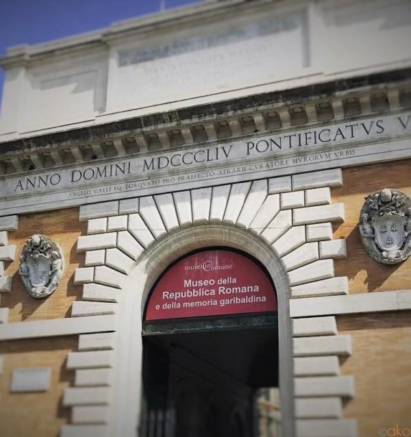 新しく見えて歴史アリ!ローマ、サン・パンクラツィオ門|イタリア観光ガイド