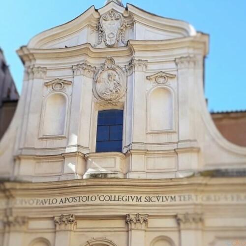聖パオロゆかりの地。ローマ、サン・パオロ・アッラ・レーゴラ聖堂|イタリア観光ガイド