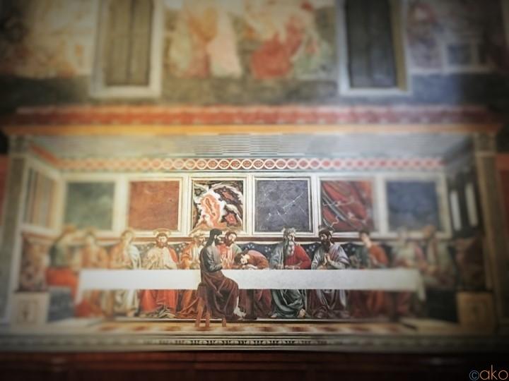 秘められた最後の晩餐。フィレンツェ、旧サンタポッローニア修道院|イタリア観光ガイド