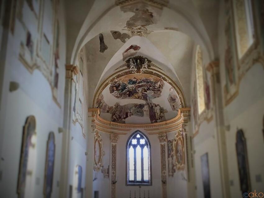 カプリ島で最も長い歴史を誇る。サン・ジャコモ修道院 イタリア観光ガイド