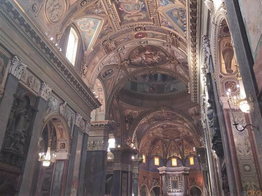 想像以上!行ってよかった、ポンペイのロザリオの聖母の巡礼聖堂|イタリア観光ガイド