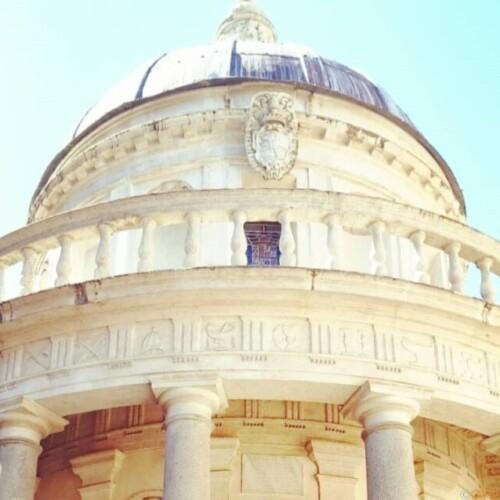 聖ペトロ殉教の地。ローマ、ブラマンテのテンピエット|イタリア観光ガイド