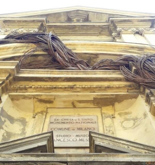 これで無料⁉ミラノ、フランチェスコ・メッシーナ・スタジオ美術館|イタリア観光ガイド