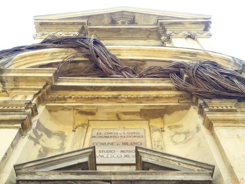 これで無料⁉ミラノ、フランチェスコ・メッシーナ・スタジオ美術館 イタリア観光ガイド