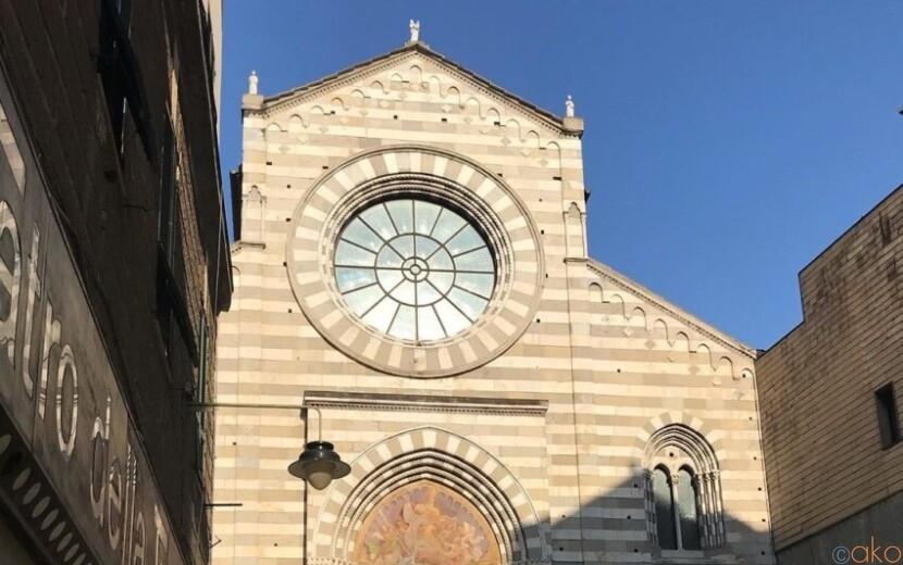 2つの回廊に癒される。ジェノヴァ、サン・タゴスティーノ教会|イタリア観光ガイド