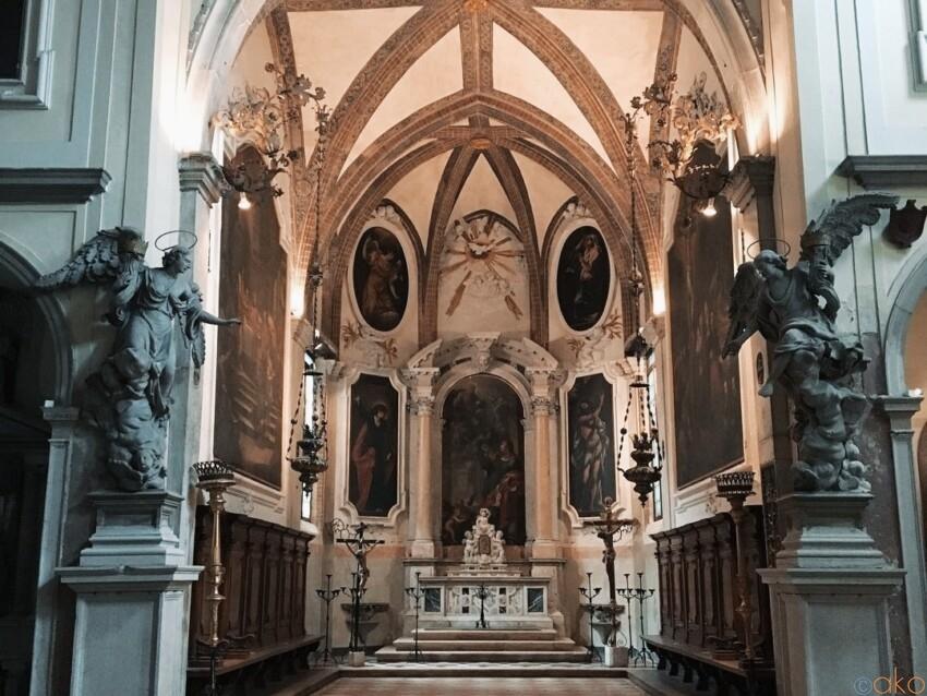 ヴェネツィアの真ん中。サン・ジョヴァンニ・エヴァンジェリスタ教会 イタリア観光ガイド