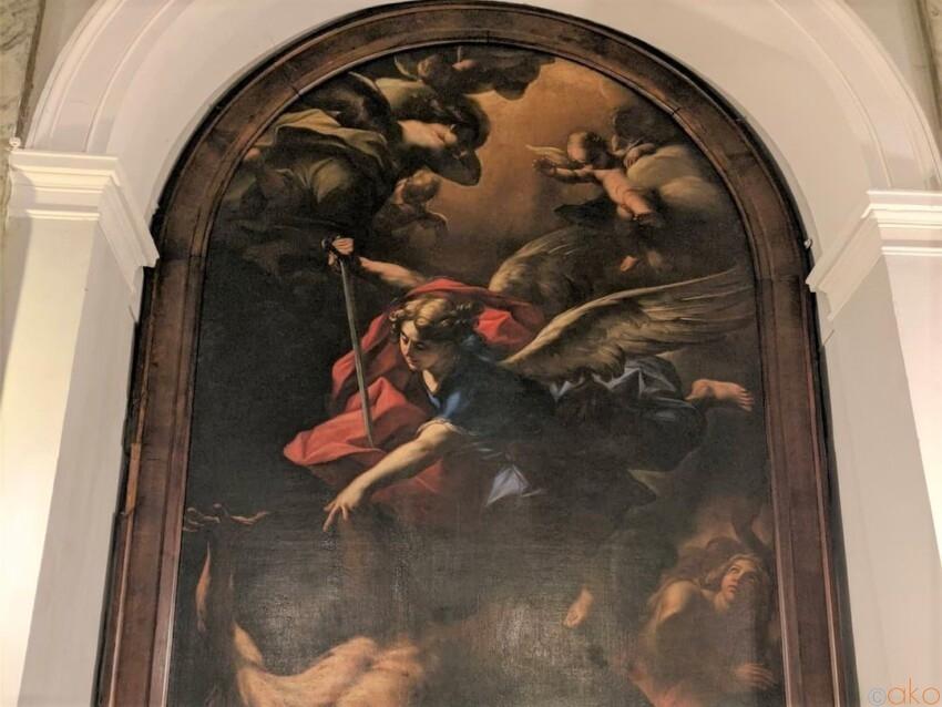 ローマ、サン・ボナヴェントゥラ・アル・パラティーノ教会 イタリア観光ガイド