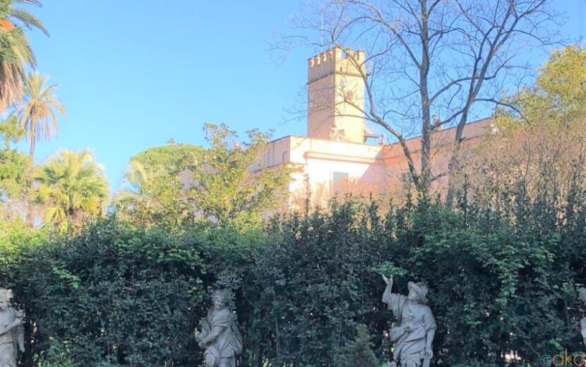 噴水が好きなら絶対ハマる。ローマ、シャッラ公園|イタリア観光ガイド