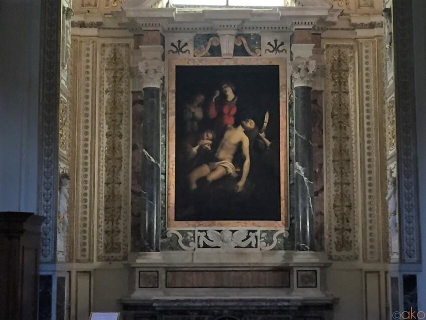 パンテオンからスグ!ローマ、サンタ・マリア・イン・アクイロ教会 イタリア観光ガイド