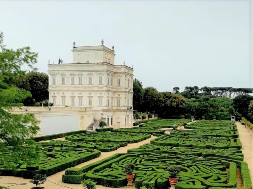 ローマ有数の大きさを誇る、ドリア・パンフィーリ公園|イタリア観光ガイド
