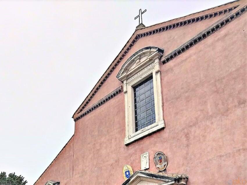 公園の中にある巡礼の場所。ローマ、 サン・パンクラツィオ教会|イタリア観光ガイド
